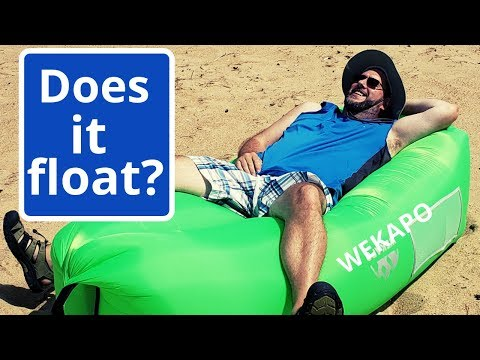 WEKAPO Inflatable Lounger Review: Does This Inflatable Lounger Really Work?