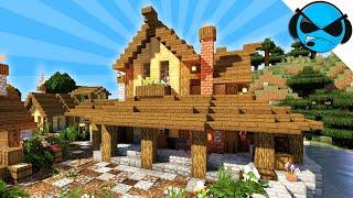 minecraft blacksmith medieval build tutorial