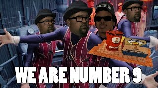 we are number nine but all you had to do was follow the damn train cj