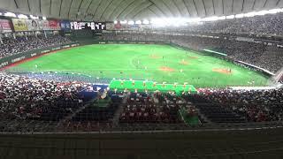 トヨタ自動車はチャンスで多木裕史、JFE東日本は須田幸太に投手交代。まず一塁側から須田コール、それに呼応して三塁側からも多木コール。あ...