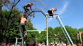Начало соревнования Workout г. Полтава 29.04.2012