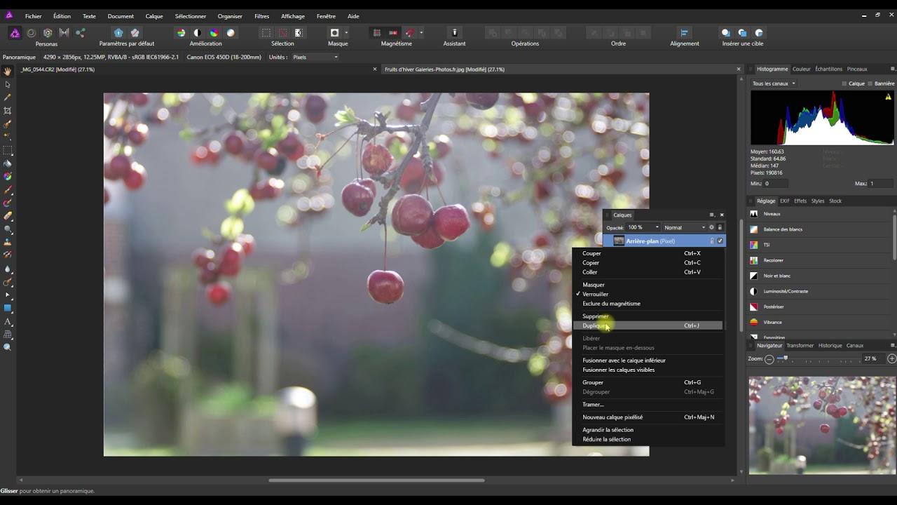 Tuto Affinity Photo Des images plus belles avec le mode Incrustation