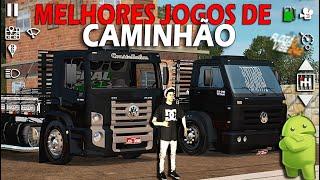 TOP 3 MELHORES JOGOS DE CAMINHÃO PARA ANDROID 2017!!