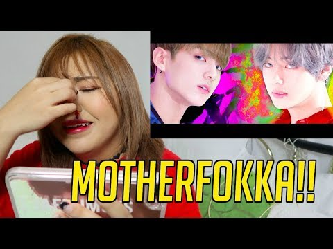 "BTS DNA MV REACTION! ""TOUCH MY A$$!"""