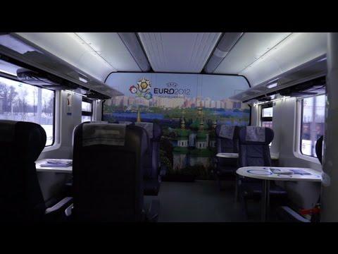 VIP Coach on Kyiv/Odessa Intercity Train