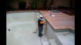 Clean Pool Tiles With Recycled Glass Beads - 702 Arts Business Video Directory
