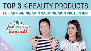 Top 3 Korean Skincare Trio for Healthy Skin | 10th Special Just Stock Up