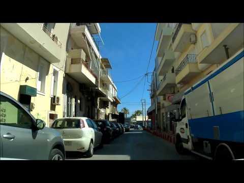 DRIVING IN  Ραφήνα/RAFINA Attica Region/* *CITY TOUR **GREECE - 2018  סיור  בעיירת חוף רפנייה  יוון