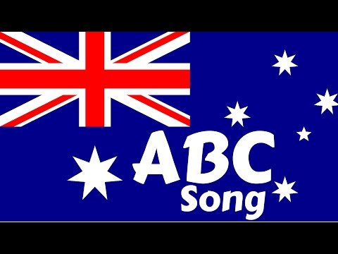 AUSTRALIA ABC Song The Alphabet Song    Nursery Rhymes  ABC Songs for Children  English