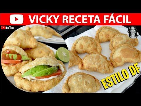 EMPANADAS DE CAMARON ESTILO DF | Vicky Receta Facil