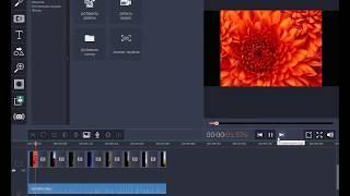Урок 1. Как создать слайд-шоу в Movavi Video Editor