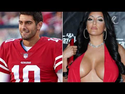Jimmy G why??? So what she has a nice Rack!!!!