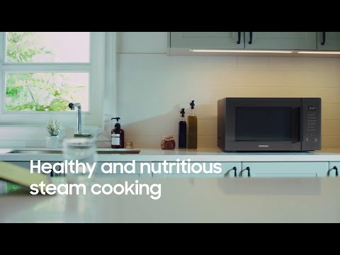Samsung Microwave Oven: Healthy Steam