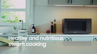 samsung microwave oven healthy steam