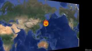M 6.9 EARTHQUAKE - NEAR EAST COAST OF HONSHU, JAPAN - Feb 16, 2015