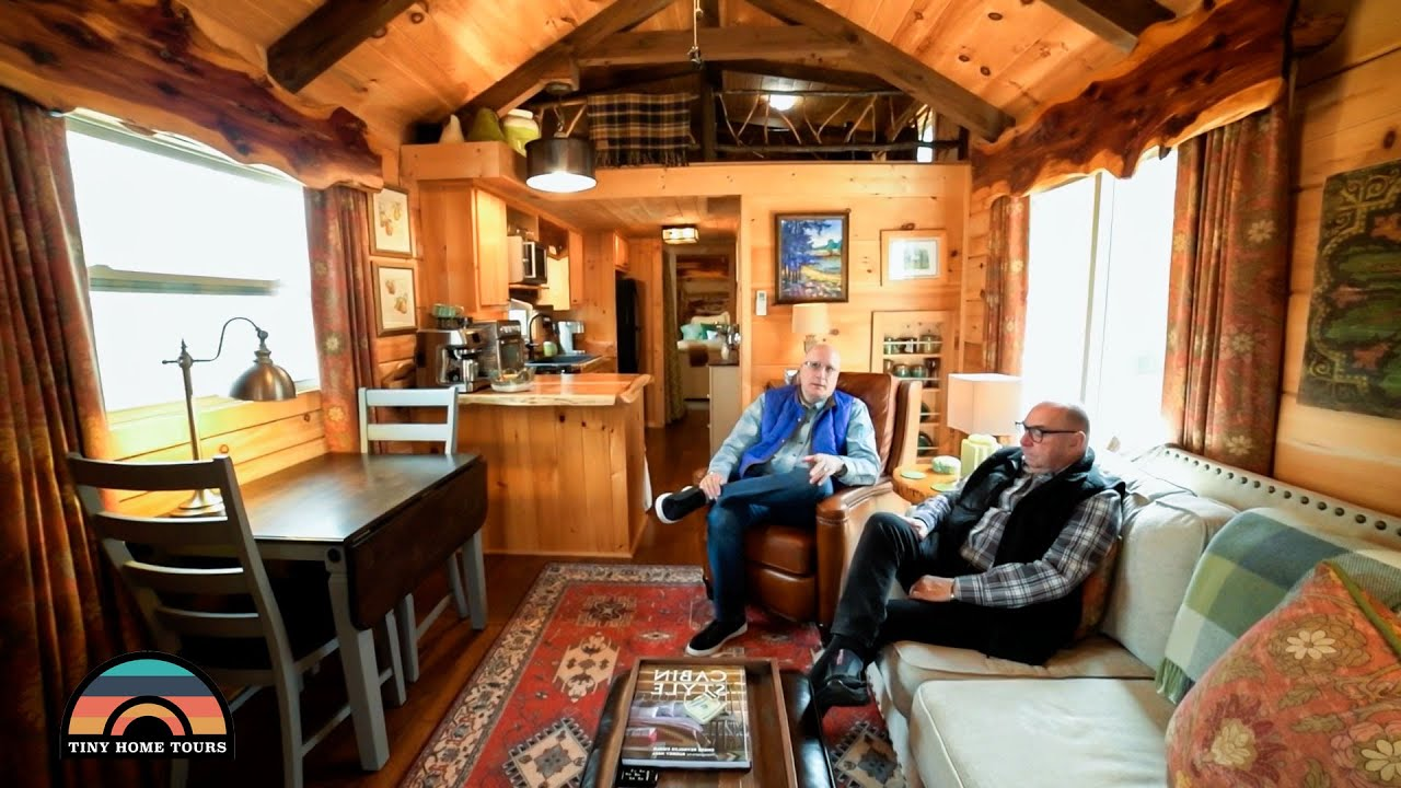 Tiny House W/ Downstairs Bedroom - The Perfect Home To Retire To