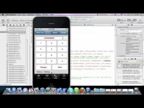 VOIP/SIP Iphone App