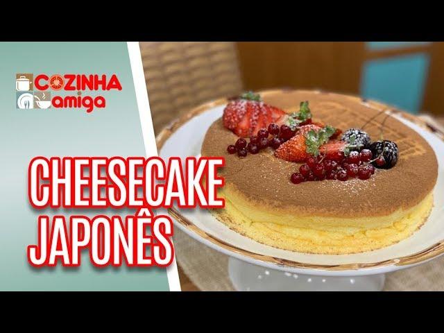 Cheesecake Japonês - Alê Peruzzo | Cozinha Amiga (28/02/19)