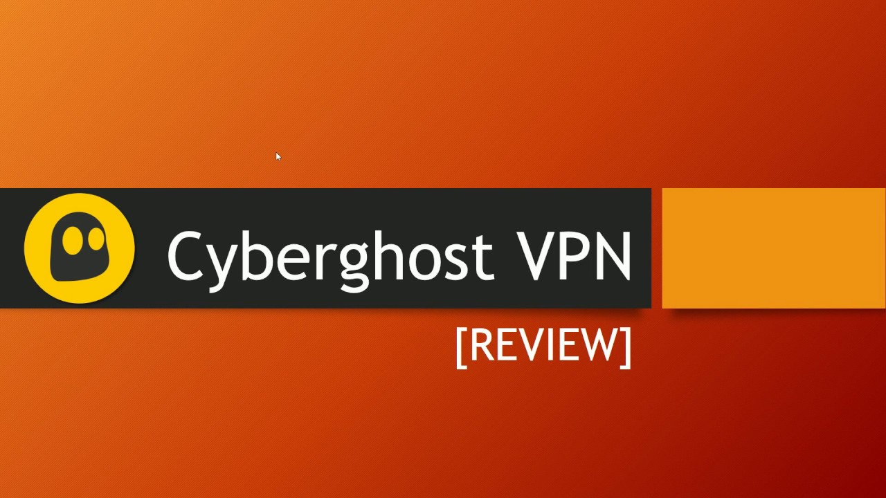 Cyberghost Test