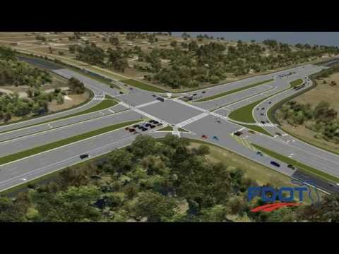FDOT Distict One SR 82 Continuous Flow Intersection Video