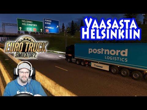 Euro Truck Simulator 2 - Vaasasta Helsinkiin