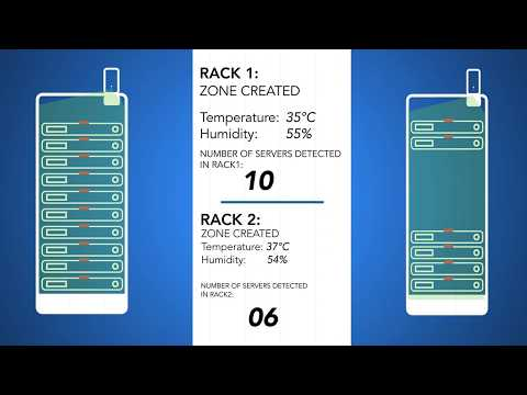 Inventive Tracking of Servers and Business -Critical Assets for Data Center with Vacus CRF