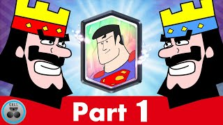 Clash Royale Animation- Superman in Clash Royale (Part1)