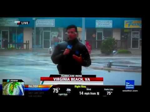Hurricane in Virginia Beach