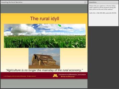 Rewriting the Rural Narrative