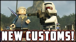 LEGO Star Wars The Force Awakens - Customs - Creating Doctor Who & Custom Trooper!