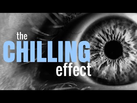 The Chilling Effect: How surveillance leads to self censorship