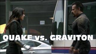 Agents of Shield Season 5 Finale: Quake vs. Graviton - Epic Fight