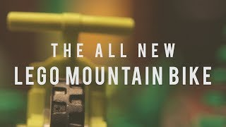 The ALL NEW LEGO Mountain Bike