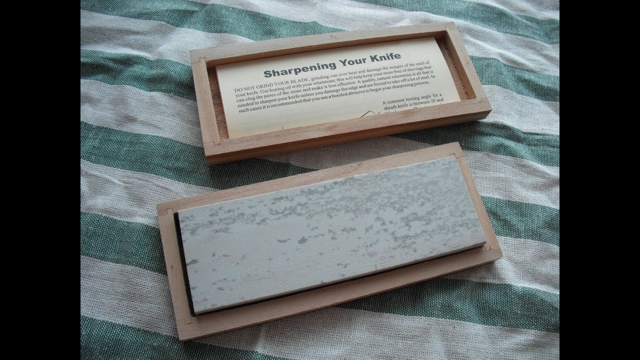 how to clean arkansas stone