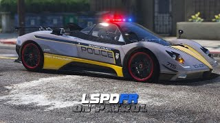 LSPDFR - Day 319 - Police Pagani Zonda