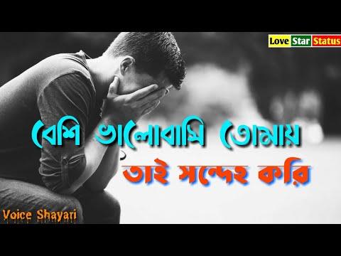 বেশি ভালোবাসি বলে তাই সন্দেহ করি তোমায়   Bengali Sad Love Story   Sad Shayari Story   Voice Story