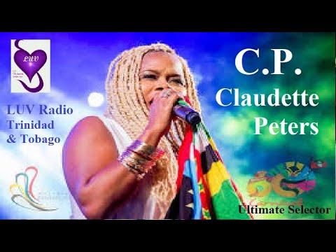 Soca Queen C.P. Claudette Peters. Ultimate Selector. LUV Radio Trinidad & Tobago.