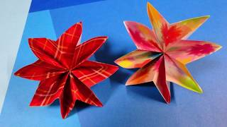 I folded a carnation with origami.母の日に最適なカーネーションを折...
