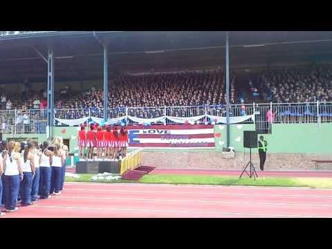 2014 Vier Meisies Skole (4M) Atletiek/Athletics — Coetzenburg Stadium, Stellenbosch, South Africa.