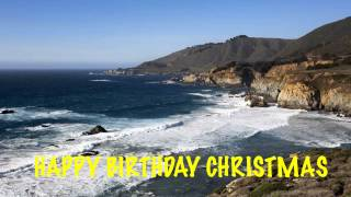 Christmas  Beaches Playas - Happy Birthday