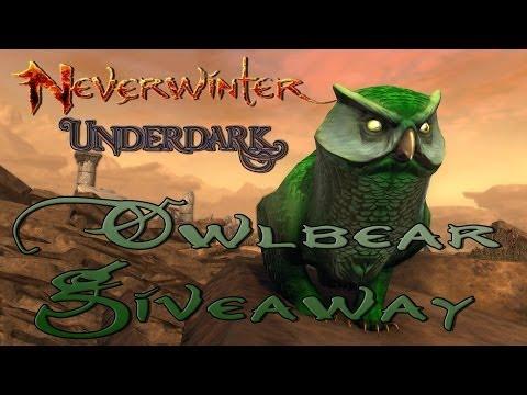 Neverwinter Underdark Owlbear Give Away!
