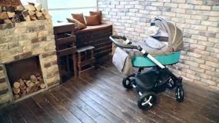 Коляска для новорожденных Baby Design Husky коллекция 2016 видео