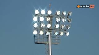 """Вижте новото осветление на стадион """"Славия"""""""