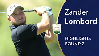 Zander Lombard shoots 65 to lead in South Africa | Round 2 Highlights | 2019 Nedbank Golf Challenge / Видео