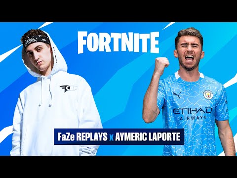 Aymeric with the clutch!! | Laporte & FaZe Replays play Fortnite
