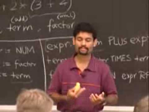 Rec 1 | MIT 6.035 Computer Language Engineering, Fall 2005