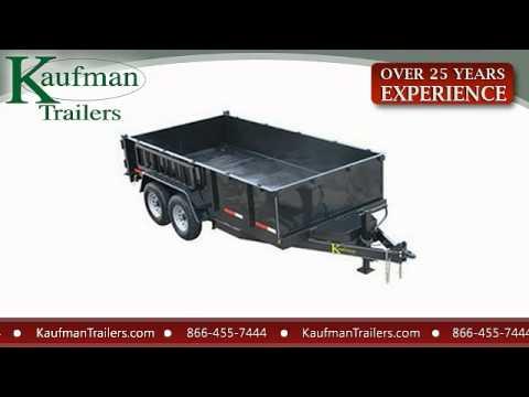 Kaufman Dump Trailers - YouTube  Kaufman Dump Trailers