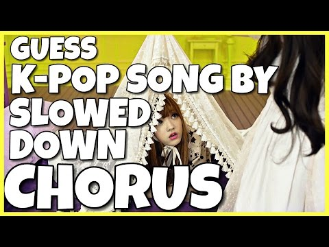 GUESS KPOP SONG BY IT'S CHORUS #2 | EASY
