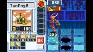 Megaman Battle Network 4 Red Sun Boss Run - Roll