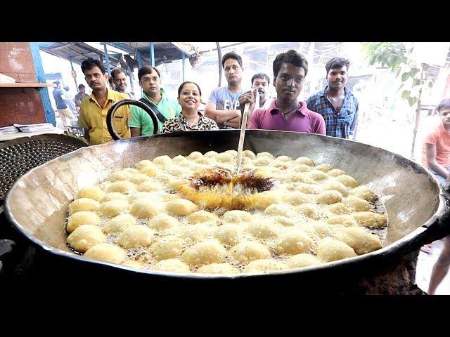 Crispy Bengali Indian Street Food Breakfast Tour Of Little Rajasthan Kolkata India